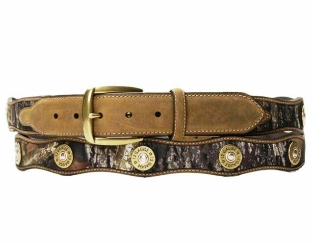 Mossy Oak Shotgun Shell Belt.. NOIR.. L @ @ K