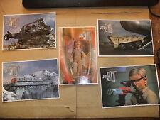 GERRY ANDERSON JOE 90 5 DVD CARLTON CARD SET ITC THUNDERBIRDS