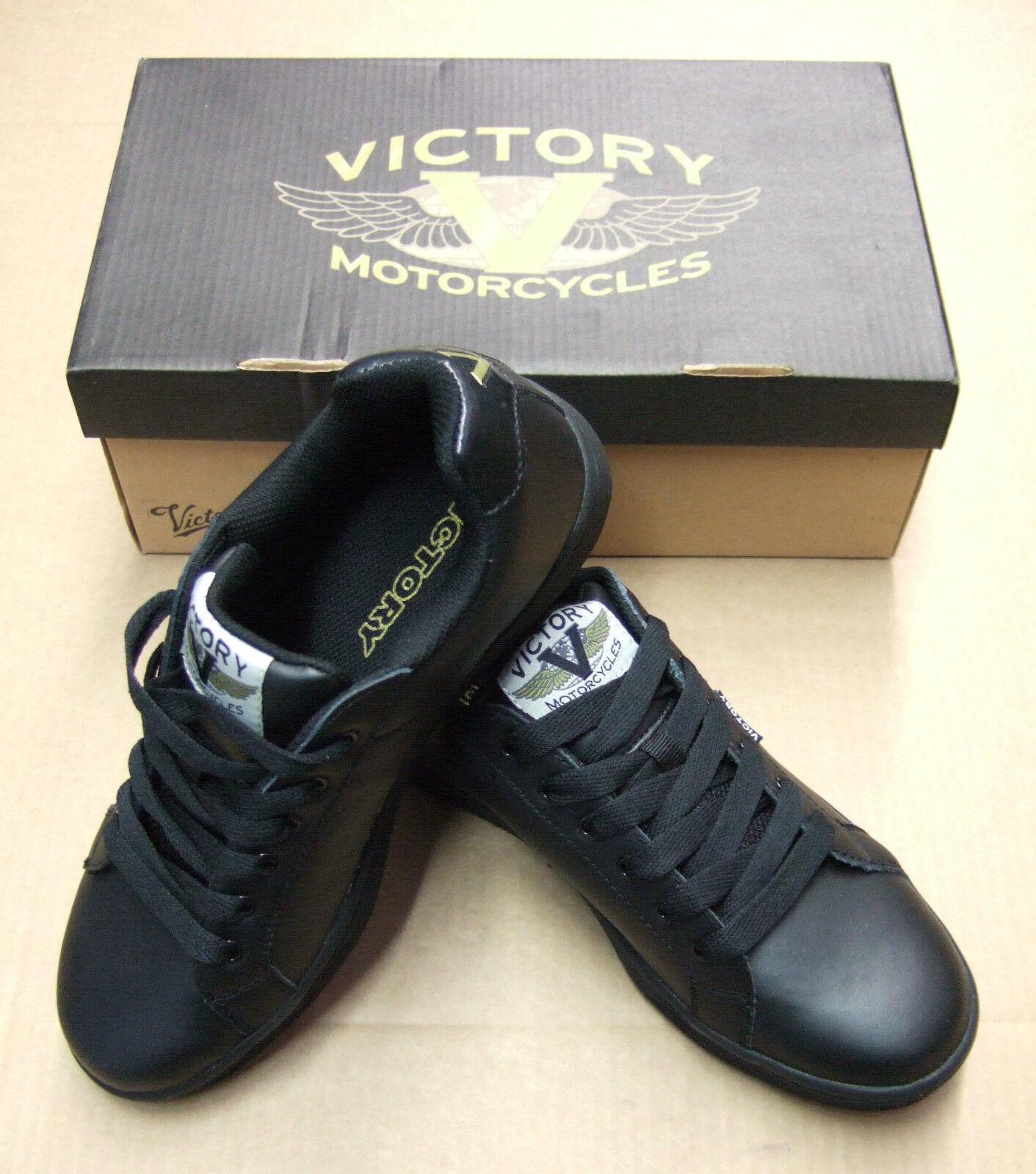 Schuhe Freizeit, Motorcycles Schuhes Turnschuhe, Victory Motorcycles Freizeit, schwarz schwarz Gr.41,42,43 a13549