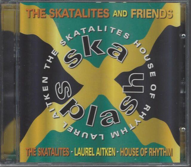 THE SKATALITES & FRIENDS - SKA SPLASH (brand new sealed double cd) MOON DCD 503