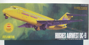 ATLANTIS-MODEL-6004-DC-9-HUGHES-AIRWEST-TWA-JETLINER-1-72-Bausatz-Kit