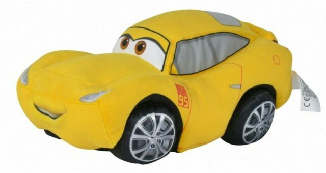"NEW OFFICIAL 10"" DISNEY PIXAR CARS CRUZ RAMIREZ PLUSH SOFT TOY"