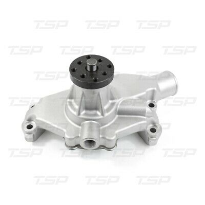 Chevy Water Pump SBC-Long Style Reverse Rotation Water Pump CHROME Finish