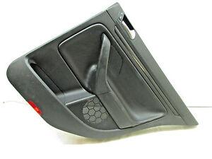 2010 VW Jetta TDI Rear Right Door Trim Panel Black 1K5 867 ...