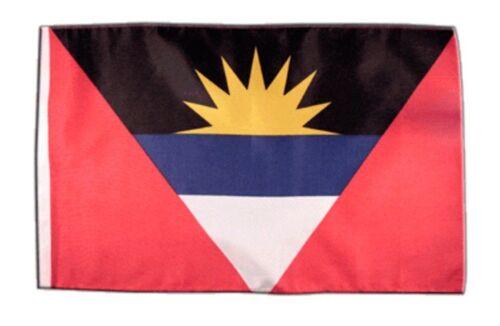 Antigua Barbuda Banner antiguanische Fahnen Flaggen 30x45cm