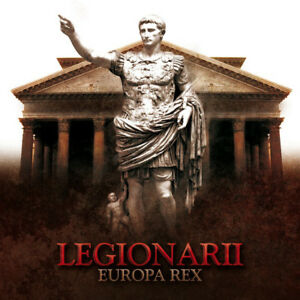 LEGIONARII-Europa-Rex-lim-111-CD-RAR-TRIARII-Von-Thronstahl-Blood-Axis