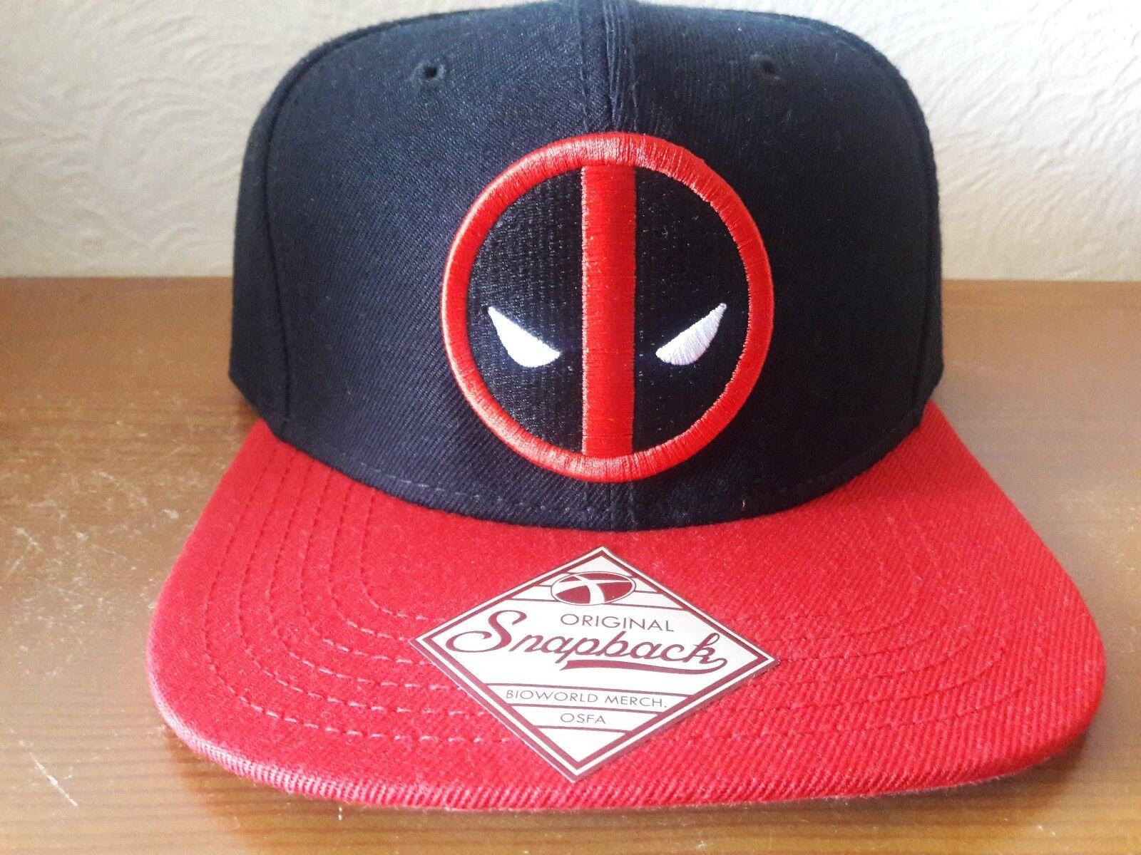 3a5aa38544fab ... australia marvel original snapback deadpool hat deadpool snapback black  red adjustable 07a871 d9bee 84ad0