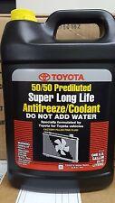 1 Gallon Toyota-Lexus-Scion Super Long Life Pink Antifreeze Coolant - OEM NEW!
