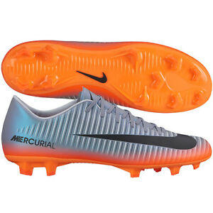 sports shoes f419f befde Details about Nike Mercurial Victory VI FG 2017 CR7 Ronaldo CR Soccer Shoes  Chrome / Orange