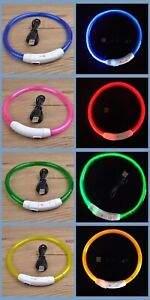 TUBE-RECHARGEABLE-HEAD-COLLAR-glow-light-UP-LED-Dog-Pet-Safety-W-MICRO-USB-CABLE