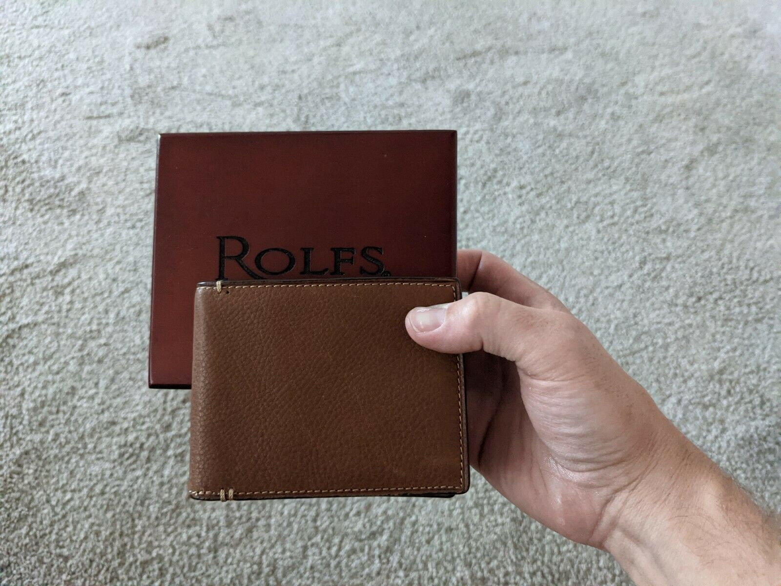 Rolf's Leather Wallet (New)