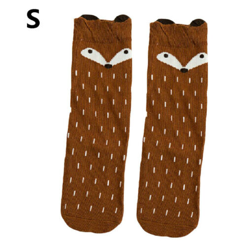 1 pair Kid Crew Ankle Socks Toddler Boy Girl Casual Multi Color Size 0-5 EKU