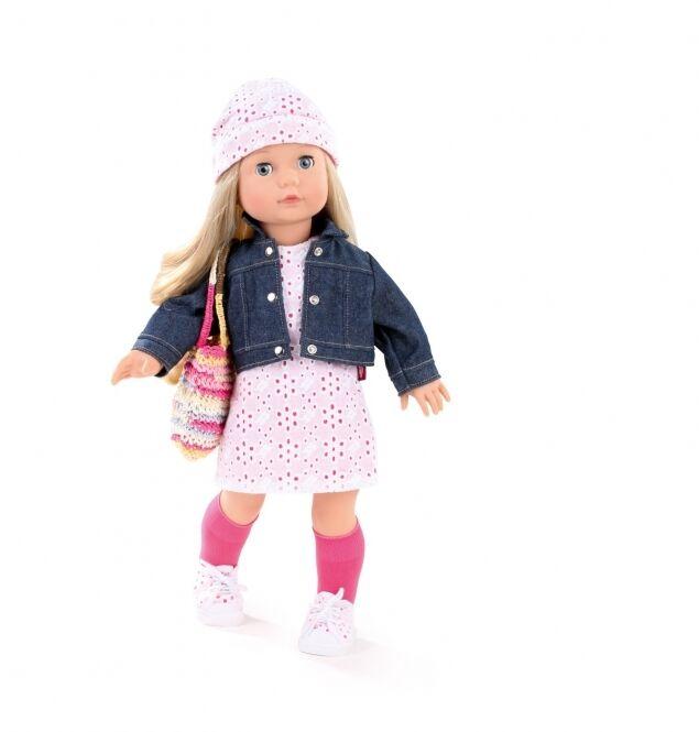 Gotz prezioso giorno bambola Jessica con  giacca di jeans  perfezionare