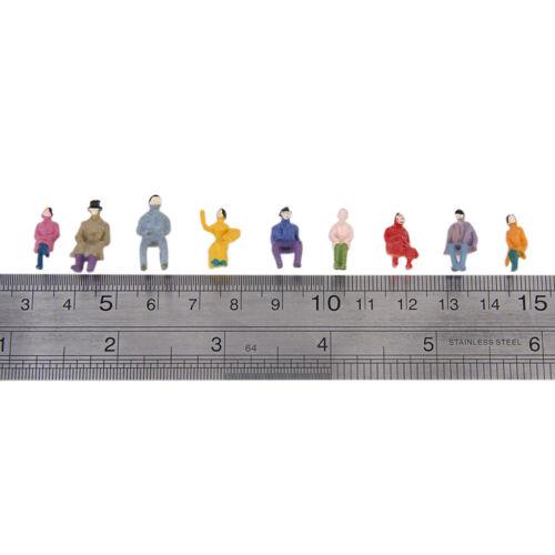50er-Set 1 87 Sitzende Menschen Figuren