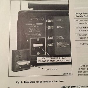 tektronix 466 464 oscilloscope dm44 meter operators manual rh proadshop xyz tektronix 466 service manual tektronix 465 manual