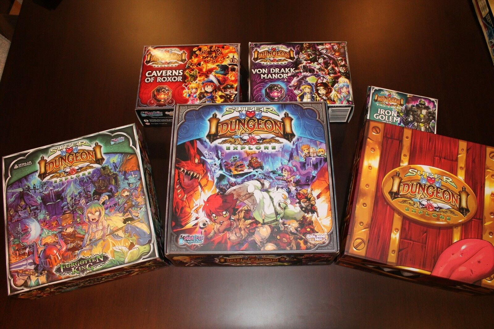 Super Dungeon Explore Original, Forgotten King, Boo Booty Booty Booty Box & more 653bc6