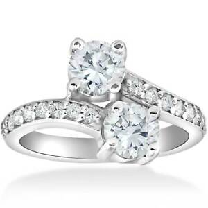 2-Carat-Forever-Us-Two-Stone-Engagement-Diamond-Solitaire-Ring-14K-White-Gold