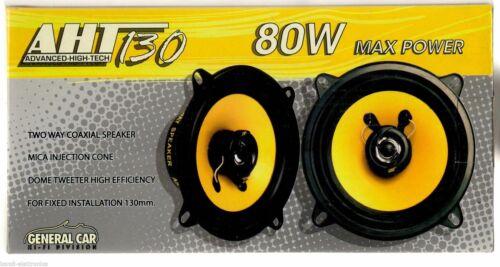 Coppia altoparlanti casse per Renault Twingo II serie  80 WATT 130 mm