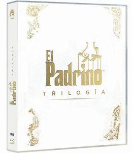 PACK EL PADRINO 4 BLU RAY EDICION 2017 TRILOGIA 1 2 3 NUEVO ( SIN ABRIR )