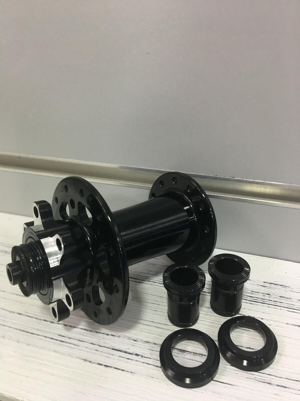 Novatec D791SB 100x9mm 6 Bolts 24H With 12x15mm  Adaptor Disc Front Hub  discount