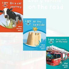 Collins Michelin i SPY Guides Series 3 Books Collection Set NEW i SPY On a car