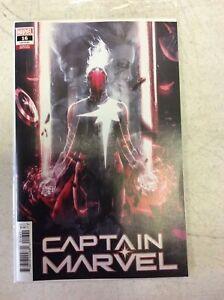 Captain-Marvel-16-Boss-Logic-Variant-2020-NM-Marvel-Comics-1st-Print