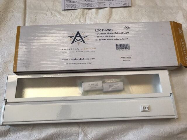 American Lighting Xenon Direct Wire 16-inch Under Cabinet Fixture ...