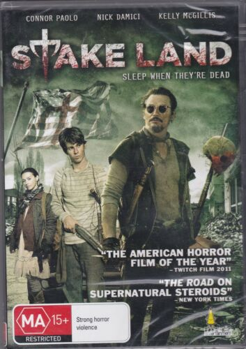 1 of 1 - STAKE LAND- Connor Paolo, Nick Damici, Kelly McGillis - DVD - NEW