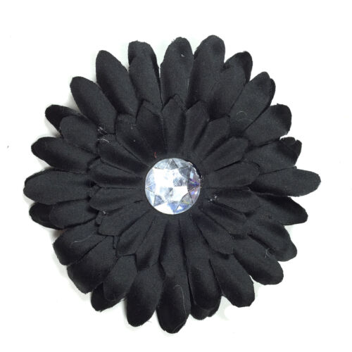 Daisy Flower Clip Crocheted Woman Girls Baby Headbands Hair Clips Headband