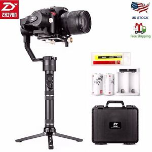 2018-Zhiyun-Crane-Plus-360-3-Axis-Handheld-Gimbal-Stabilizer-for-DSLR-Camera-US