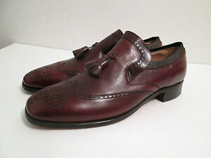 nettleton shoes loafers with tassels wing tips size 10 B ...