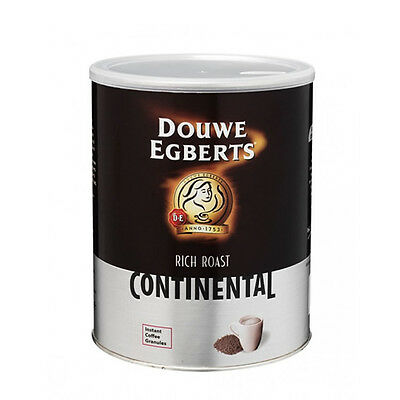 Douwe Egberts Continental Rich Roast Coffee 750g - £12.79 Each