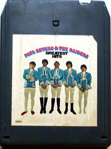 PAUL-REVERE-THE-RAIDERS-Greatest-Hits-8-TRACK-CARTRIDGE-TAPE