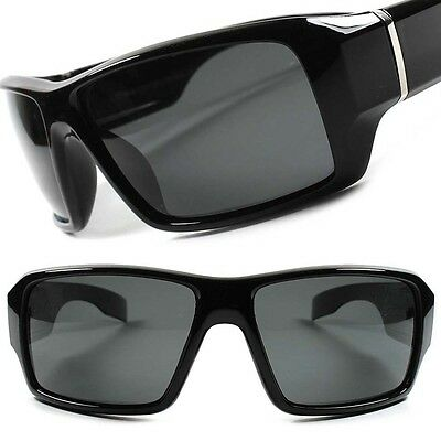 Motorcycle Biker Outdoor Fishing Hunting Polarized Wrap Sport Sunglasses F96