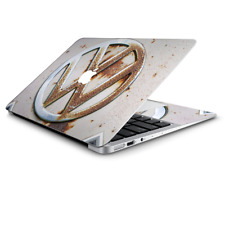 Split Window van Skin Decal for Cornhole Game Board 2xpcs. // VW Bus Rust