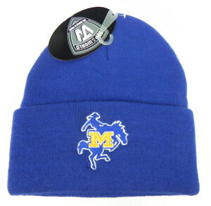 MCNEESE-STATE-ST-COWBOYS-BLUE-NCAA-BEANIE-TOP-OF-THE-WORLD-KNIT-CAP-HAT-NWT