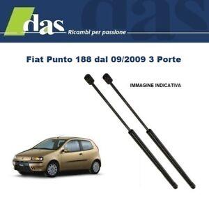 MOLLE A GAS COFANO POSTERIORE  FIAT PUNTO 3 PORTE  DAL  09//99 AL 6//03