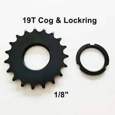 """1//8/"""" FIXIE NEMESIS 20T FIXED GEAR COG GOLD FOR DISC HUB"""