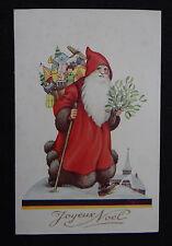 Carte postale JOYEUX NOEL Père XMAS Christmas SANTA CLAUS postcard Postkarte 2