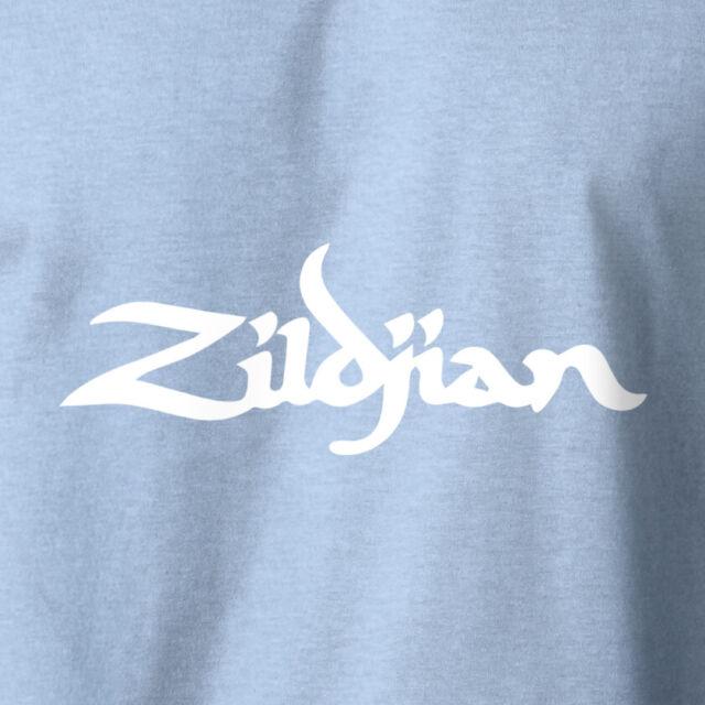 ZILDJIAN Cymbals Logo T-Shirt Rock Music ZBT Drums Drummer on S-6XL Gildan Tee
