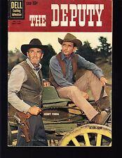 THE DEPUTY #1130 DELL/4-COLOR 1960 FN  MOVIE/TV..PHOTO-c  HENRY FONDA