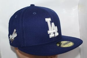 new photos 39320 68c86 Image is loading Los-Angeles-Dodgers-New-Era-MLB-Pintastic-59Fifty-