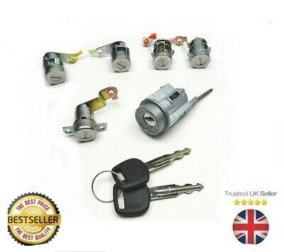 OCTAVIA FABIA NEW BEETLE LOCKSET FRONT DOOR LOCK BARREL WITH KEYS  ;;;
