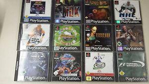 12x PS1 Spielepaket bis USK 16 - Sony Playstation 1