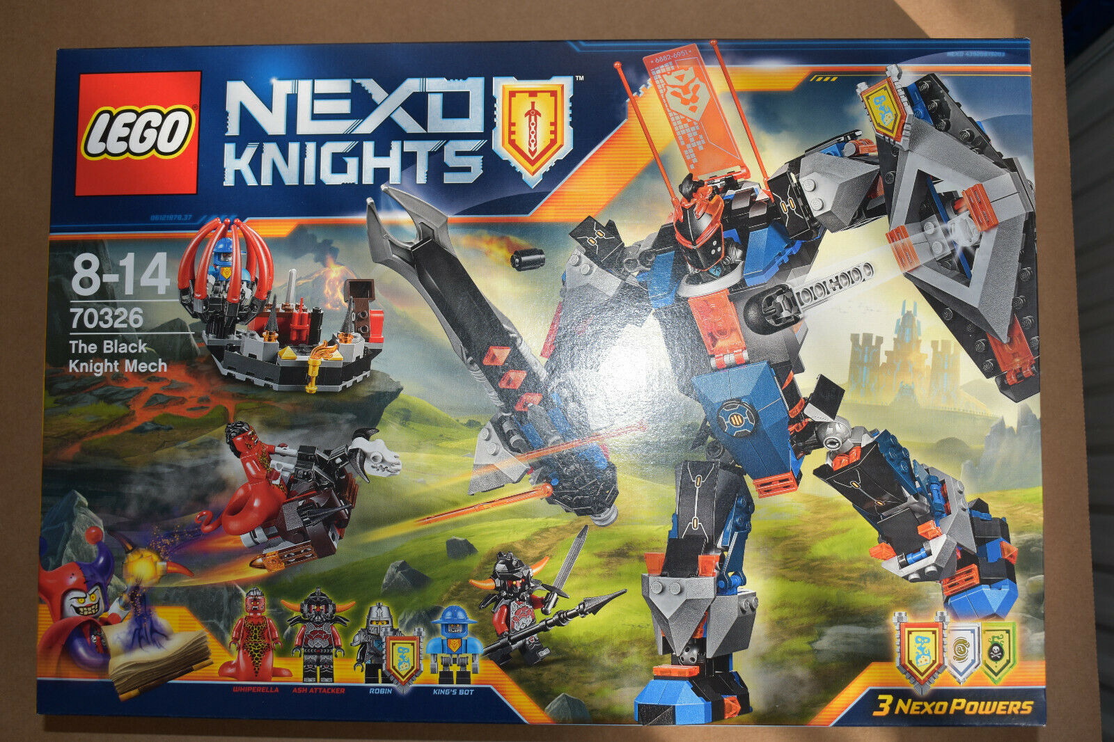 LEGO ® 70326 Nexo Knights ™ la Mech du Chevalier Noir Nouveau Neuf dans sa boîte