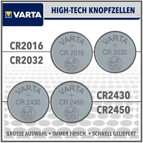 Varta pila de botón CRX 3v selección cr2016 cr2032 cr2430 cr2450