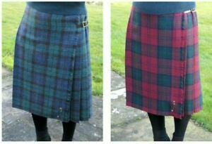 Fougueux Femme Long Authentique Shetland Laine Kilt Diverses Écossais - Fabriqué En Pas De Frais à Tout Prix