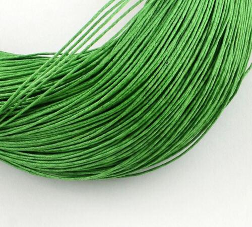 10 km cordon coton Stick à 1 mm Bande Grand-Teint Shamballa makrameè