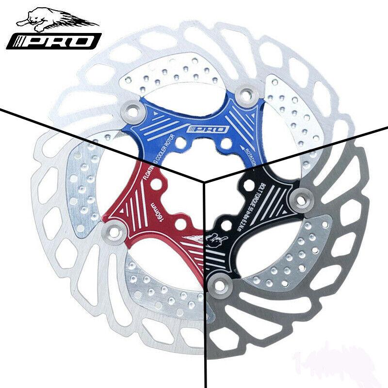 IIIPRO Bremsscheibe 160 180 203mm 6-Loch Design Fahrrad Aluminium Bremse Disc