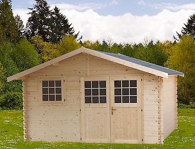 CASETTA BOX IN DI LEGNO 427x349 cm casette da giardino attrezzi 35 mm 400x300